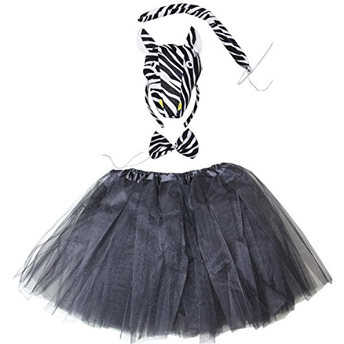 (Kirei Sui Black Zebra 3D Costume Tutu)