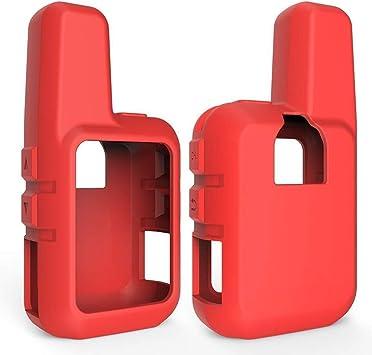 Estuche Duradero para portátil Estuche for Garmin InReach Mini GPS - Estuche de Silicona Funda Protectora Skin Satellite Communicator Accesorios Aplicar (Color : Red): Amazon.es: Deportes y aire libre