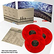 Attack On Titan Original Soundtrack - Exclusive Limited Edition Red Marble Colored 3x Vinyl LP (Only 500 Copie
