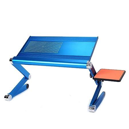 Bandeja de mesa de cama Portátil portátil de aluminio para ...