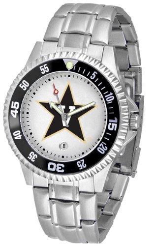 NCAA Vanderbilt Commodores Stainless Steel Competitor Metal Watch