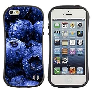 Pulsar iFace Series Tpu silicona Carcasa Funda Case para Apple iPhone 5 / iPhone 5S , Plant Nature Forrest Flower 81