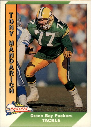 1991 Pacific Football Card #161 Tony Mandarich
