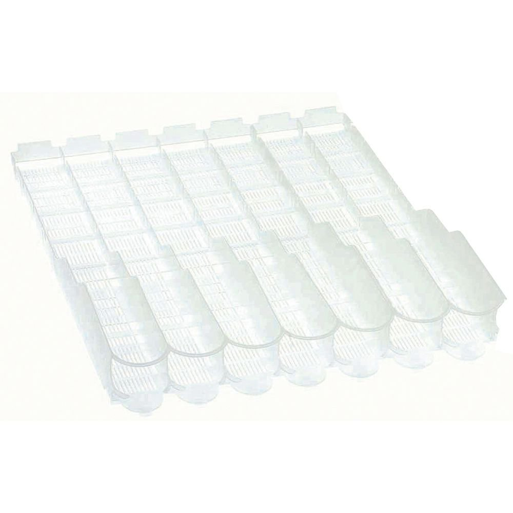 Visibility Slide Clear Plastic 1-Liter Bottle Organizer - 27