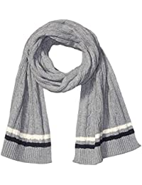 Amazon Brand - Goodthreads Men's Soft Cotton Cable Knit Scarf