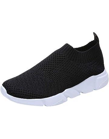 uk availability a110c ea9d8 CIELLTE Chaussures Baskets Femme Chaussettes Casual Hiver Sneakers Bottes  de Neige Entraînement Trail Multicolore Running