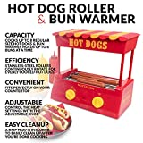 Nostalgia HDR8RY Hot Dog Warmer 8 Regular