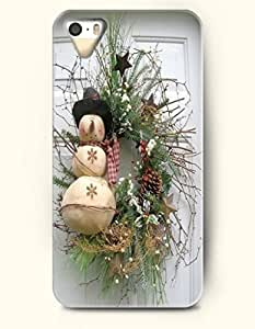 OOFIT iPhone 4 4s Case - Christmas Decoration With Snowman
