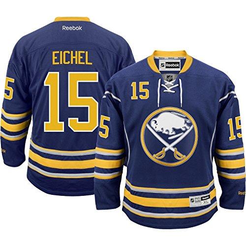 Jack Eichel Buffalo Sabres Reebok Premier Replica Home NHL Jersey Blue XXL (Buffalo Reebok Mesh Sabres)