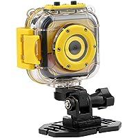 Kids Waterproof Camera, PELLOR Underwater Sport Action Cam Video Recorder (Yellow, 1.77in)