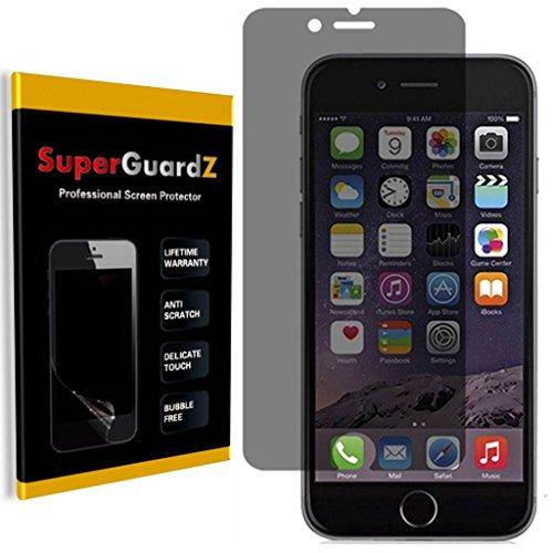 [2-Pack] For iPhone 7 Plus 5.5 - SuperGuardZ 360 Degree [4 Way] Privacy Anti-Spy Screen Protector, Anti-Glare, Anti-Scratch, Anti-Bubble