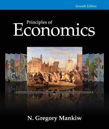 Principles of Economics, 7th Edition (Mankiw's Principles of Economics) cover