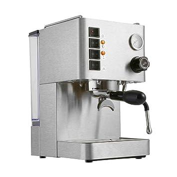 DSKJ Maquina De Cafe Cafetera Semi-Automática De Alta Presión A Vapor.: Amazon.es: Hogar