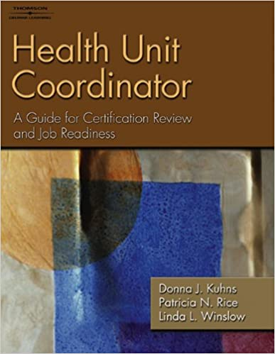 Health Unit Coordinator: A Guide for Certification Review and Job ...