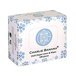 Charlie Cloth Diaper Liners and Wipes, Natural
