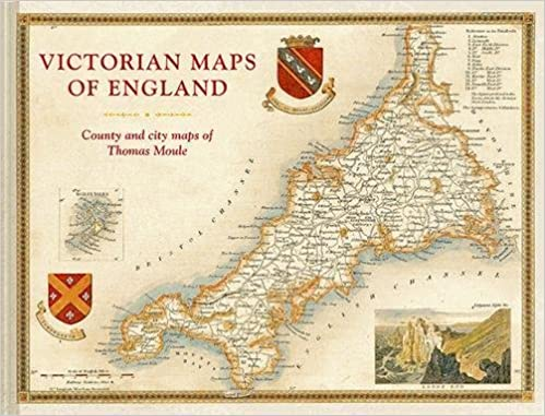 Large Map Of England.Victorian Maps Of England The County And City Maps Of Thomas Moule