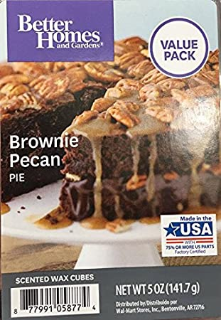 Amazoncom Better Homes And Gardens Brownie Pecan Pie Value Pack - Better homes and gardens brownie recipe