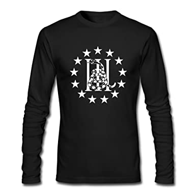 Amazon.com  American Flag Gadsden Flag Man Organic Cotton New Style Round  Neck Long Sleeve Autumn Wear T-shirt  Clothing 5db151f71c