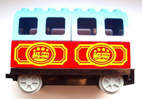 Lego Duplo Wagon Anhänger für Eisenbahn Eisenbahnwagon Western