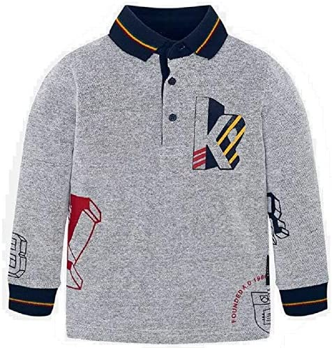 Mayoral Polo Manga Larga newvarsity niño Modelo 4113: Amazon.es ...