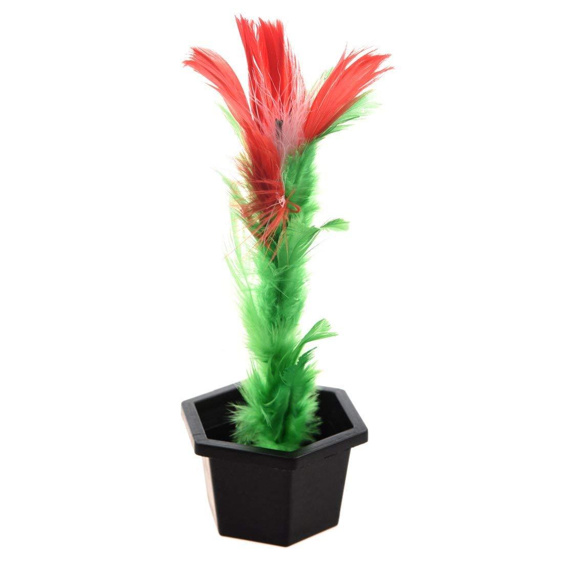 Truco de magia palillo de flor de comedia accesorio de demostracion de nino R TOOGOO