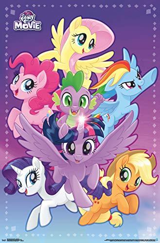 Trends International My Little Pony Movie-Adventure Clip Bundle Wall Poster, 22.375