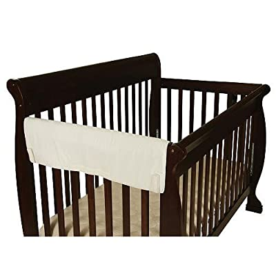 Leachco Easy Teether XL Side Rail Crib Cover Ivory- 1 Pack by Leachco