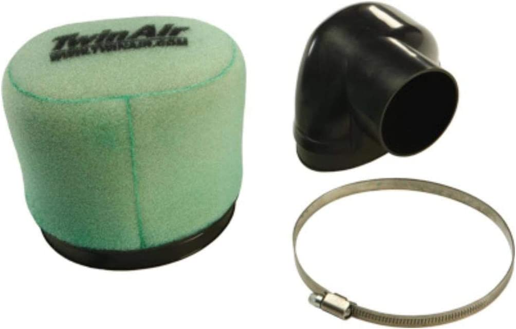 Twin Air 154007 Oval Style Universal Clamp-On Dual Stage Foam Air Filter