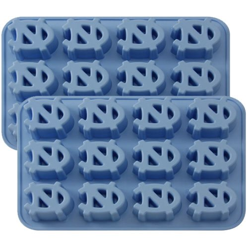 - Fanpans NCAA North Carolina Tar Heels Ice Tray & Candy Mold, One Size, Blue