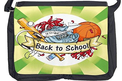 Borsa Tracolla Divertimento Ritorno a scuola Stampato