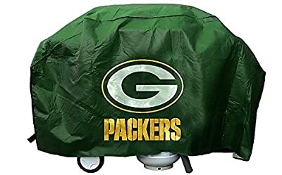 Green Bay Packers Grill Cover Deluxe - Licensed NFL Football Merchandise by Sports Collectibles