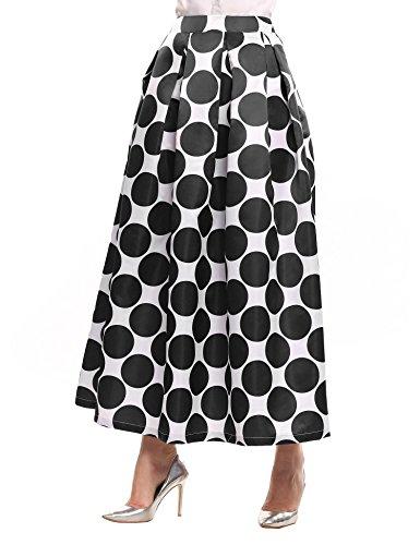 Full Skirt Print Skirt - 5