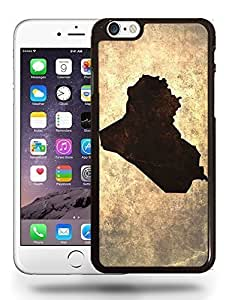 Iraq National Vintage Country Landscape Atlas Map Phone Case Cover Designs for iPhone 6
