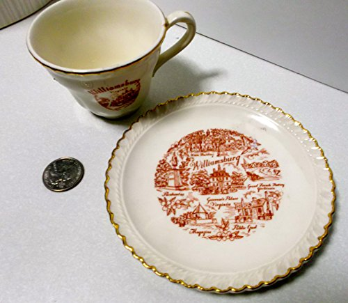 Colonial Saucer - Colonial Williamsburg Cup and Saucer