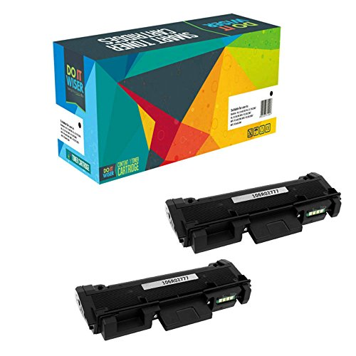 Do it Wiser Compatible Extra High Yield 106R02777 Toner for Xerox Phaser 3260 3260DI 3260DNI 3052 WorkCentre 3215 3215NI 3225 3225DNI - 2 Pack - 3,000 Pages