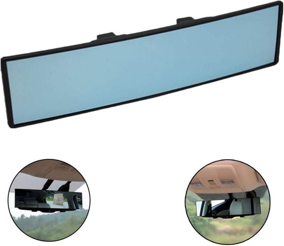 Toruiwa Auto Rückspiegel Auto Panoramaspiegel Panorama Rückspiegel Auto Innen Rückspiegel Mit Winkeleinstellung Runder Winkel Gebogen Universal Auto