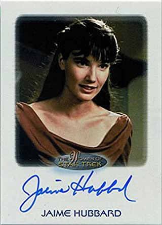 Women of Star Trek 50th Anniversary Autograph Card Jaime
