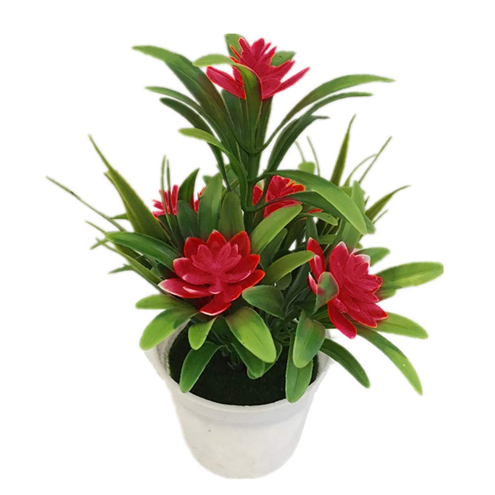 super1798-Artificial-Fake-Lotus-Flower-Potted-Plant-Bonsai-Wedding-Party-Garden-Home-Decor-Red