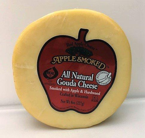 Red Apple Smoked Cheese - Gouda (8 ounce) (Mozzarella Smoked Cheese)
