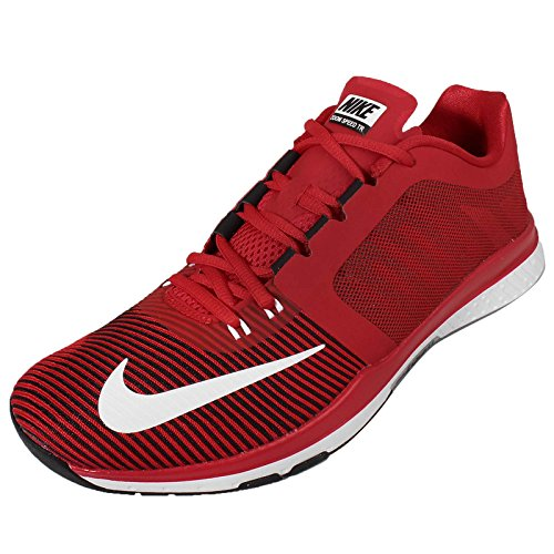 Blanco NIKE de black Rojo Sport Homme White TR3 Zoom University Speed Red Chaussures 4x648r