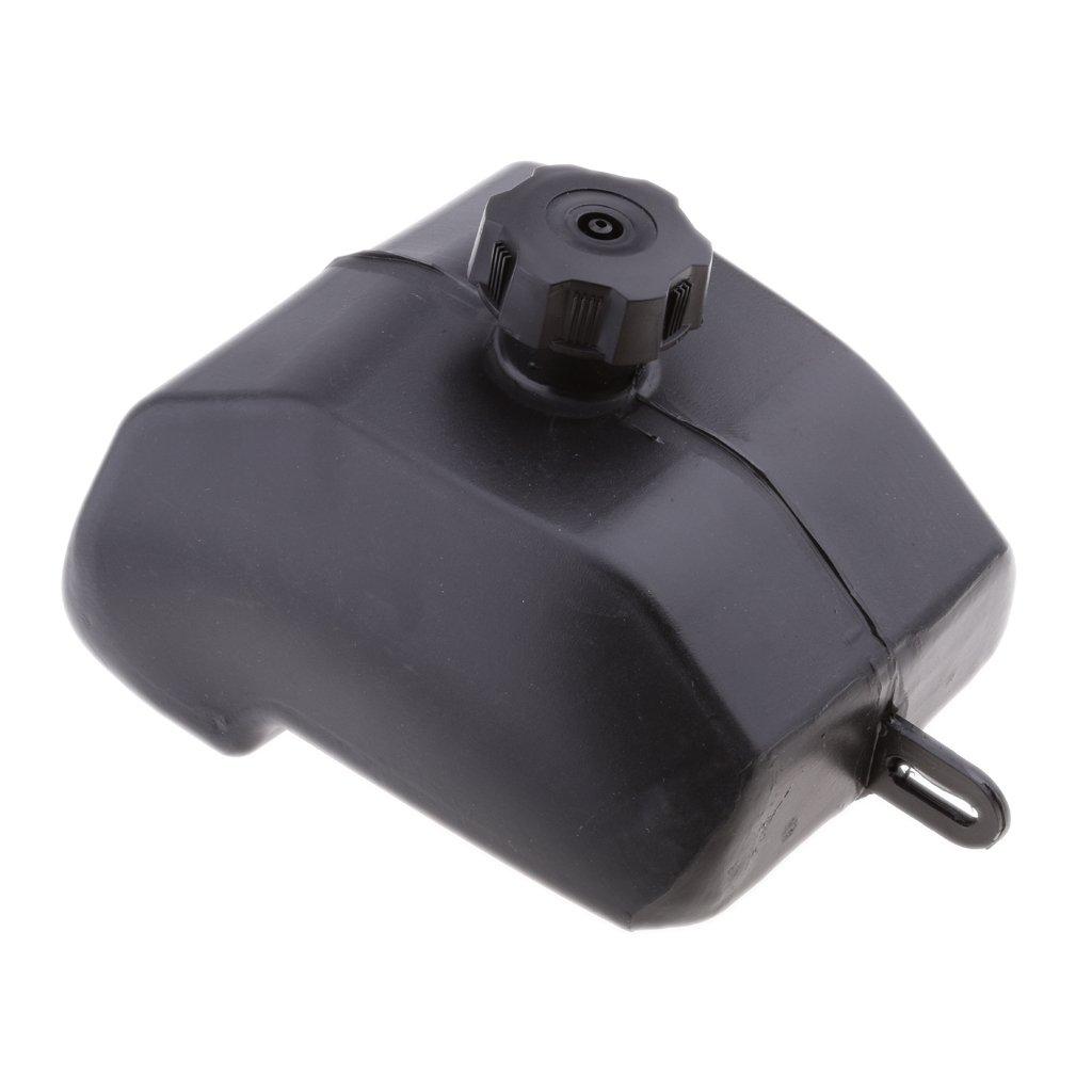 Gazechimp Depósitos de Combustible con Tapa para ATV Moto de 11, 81 × 7, 08 × 8, 66 Pulgadas 81 × 7 08 × 8