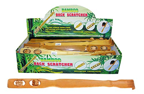 Bamboo Back Scratcher, Case of 72
