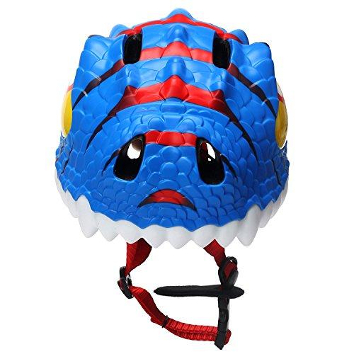 Bavilk Toddler Multi Sports Helmet 3D Cartoon Kids Bike Helmets for Girls/&Boys