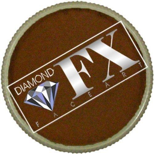 Diamond FX Essential Face Paint - Light Brown (30 gm) ()
