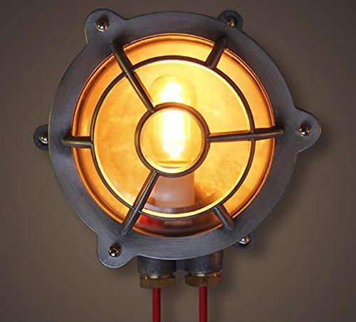 DMMSS Industrial Wind Retro Creative Restaurant LED Outdoor Bathroom Wall Light by DMMSS
