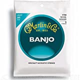 Martin Vega Nickel Wound V700 Banjo Strings Light Gauge - Pack of 1