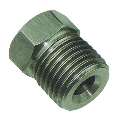 (1/2-20 Inverted Flare STAINLESS STEEL Tube Nut Fitting 3/16 Brake Line EA STN4 (D-3-4))