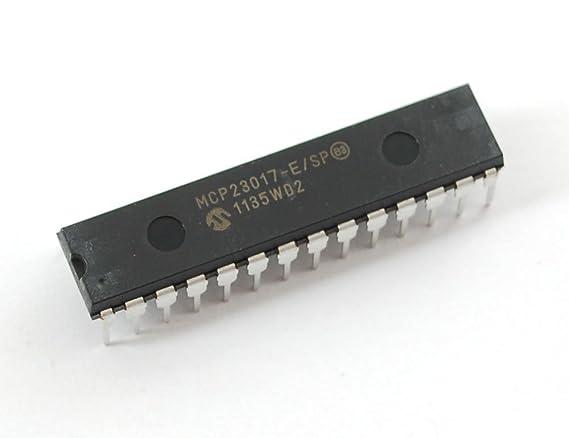MCP23017 - i2c 16 input/output port expander