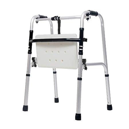 LHNLY-Andadores Andador Plegable con Asiento - Ayuda médica ...