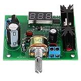 LM317 Adjustable Voltage Regulator Step Down Power Supply Module LED Meter - Arduino Compatible SCM & DIY Kits